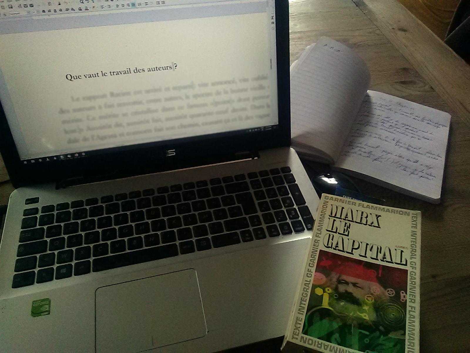 Que vaut le travail des auteurs ?