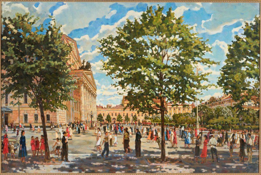 Andrei Petrovich Gorsky - Un matin de Mai au Bolshoi