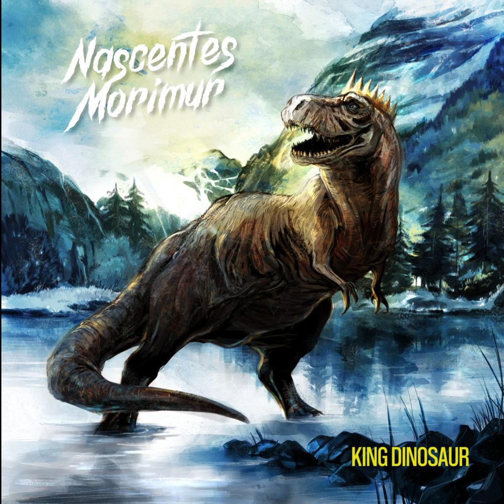 "pochette de l'album ""King Dinosaur"""